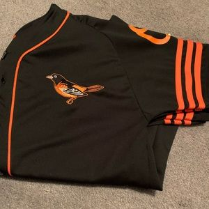 Orioles adidas jersey. Wieters #32